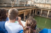 Whole school trip to the Roman Baths